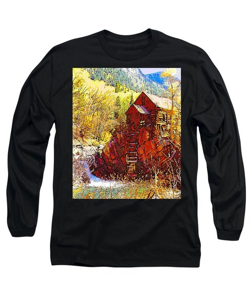 Deadhorse Mill Long Sleeve T-Shirt by Dan Miller