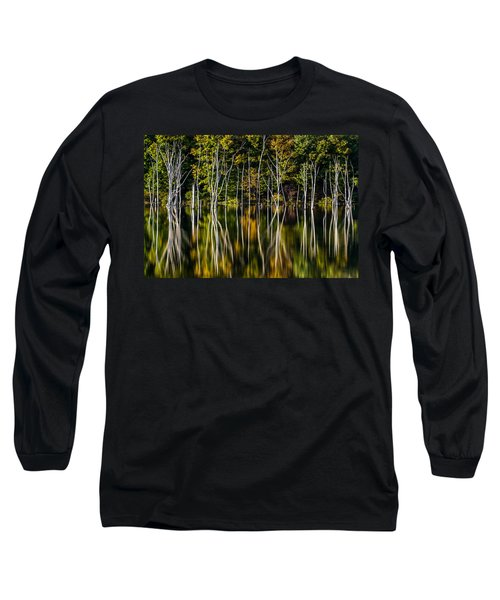 Long Sleeve T-Shirt featuring the photograph Deadwood by Mihai Andritoiu
