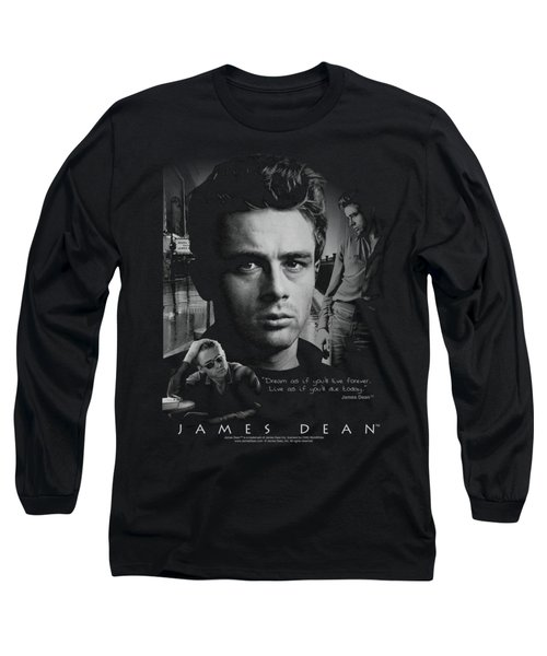 Dean - Dream Live Long Sleeve T-Shirt by Brand A