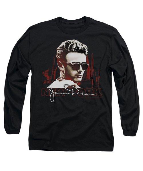 Dean - New York Shades Long Sleeve T-Shirt by Brand A