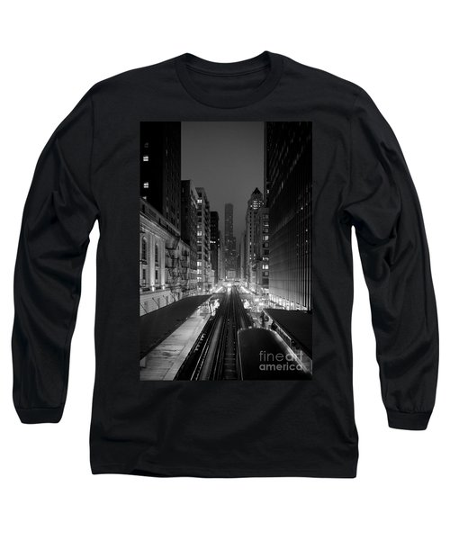 Long Sleeve T-Shirt featuring the photograph Dear Chicago You're Beautiful by Peta Thames