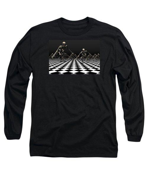 Death Approaches Long Sleeve T-Shirt
