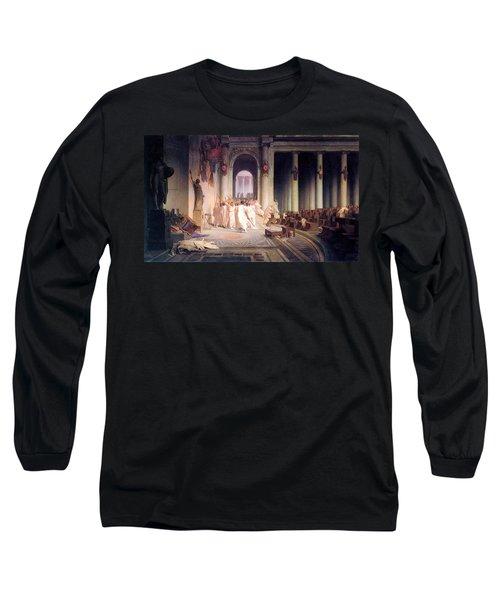 Death Of Caesar Long Sleeve T-Shirt