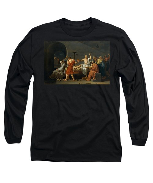 Death Of Socrates Long Sleeve T-Shirt