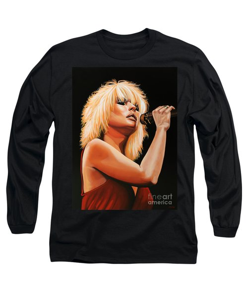 Deborah Harry Or Blondie 2 Long Sleeve T-Shirt