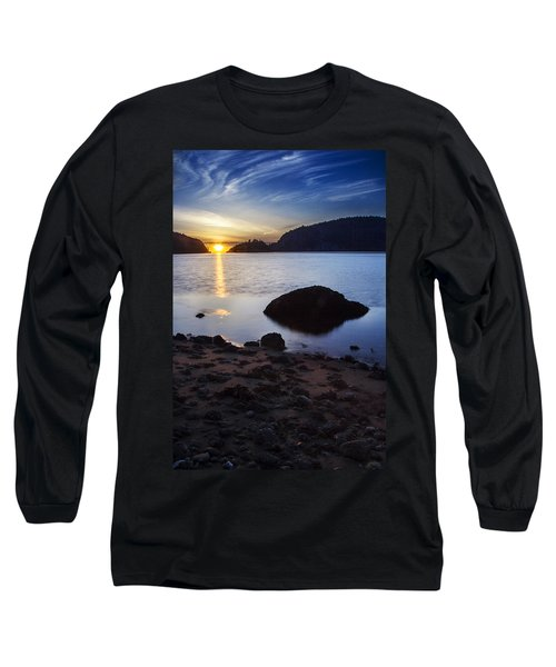 Deception Pass 3 Long Sleeve T-Shirt by Sonya Lang