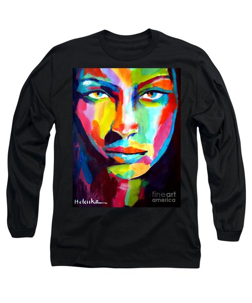 Deep Gaze Long Sleeve T-Shirt