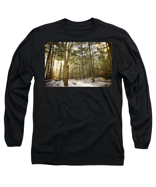 Long Sleeve T-Shirt featuring the photograph Deep In The Forest by Alana Ranney