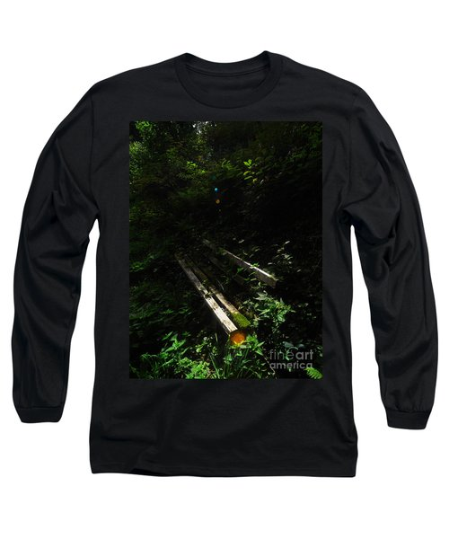 Long Sleeve T-Shirt featuring the photograph Deep In The Woods by Andy Prendy