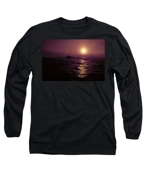 Deep Sea Fishing Off West Port Wa II Long Sleeve T-Shirt