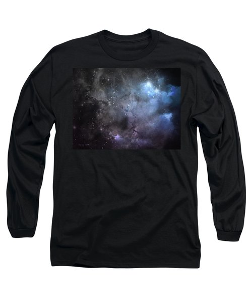 Deep Space Long Sleeve T-Shirt by Cynthia Lassiter