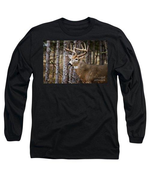 Deer Buck Long Sleeve T-Shirt