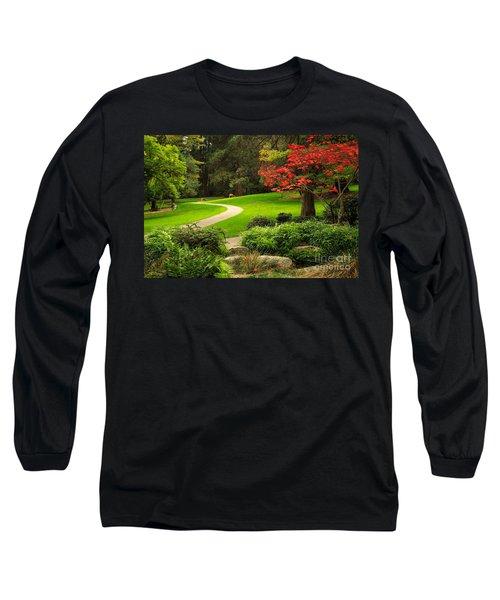 Deer In Lithia Park Long Sleeve T-Shirt