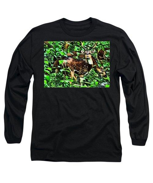 Deer's Green Day Long Sleeve T-Shirt