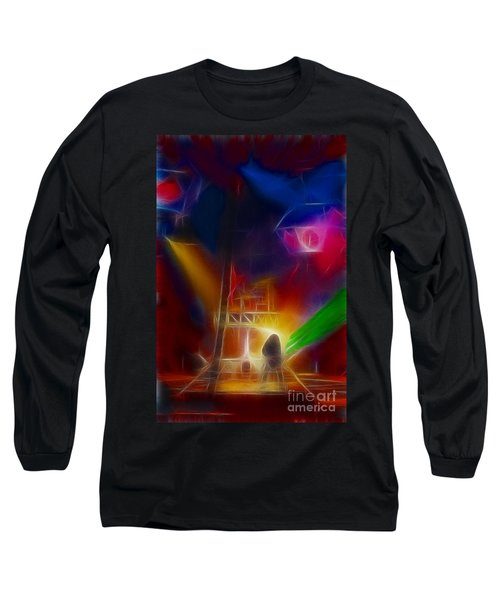 Def Leppard-adrenalize-gf10-fractal Long Sleeve T-Shirt by Gary Gingrich Galleries