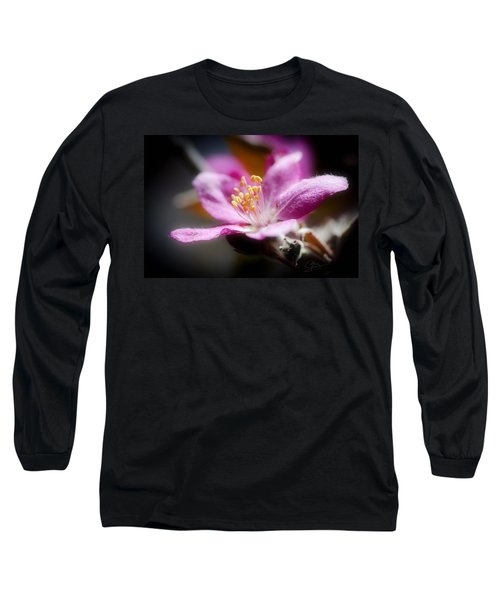 Delicate Glow Long Sleeve T-Shirt by Greg Collins
