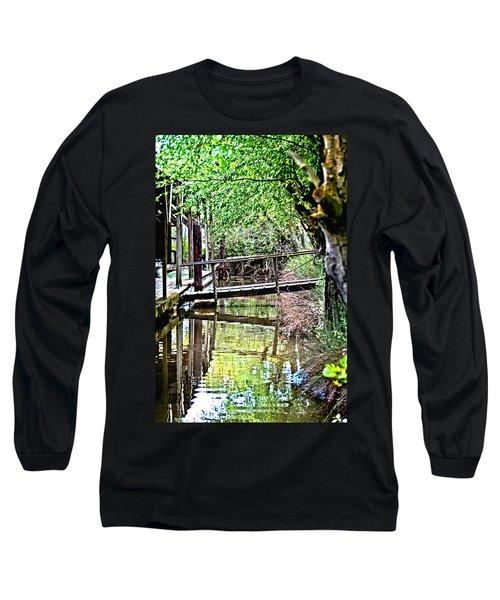 Delta Marina Dock Long Sleeve T-Shirt