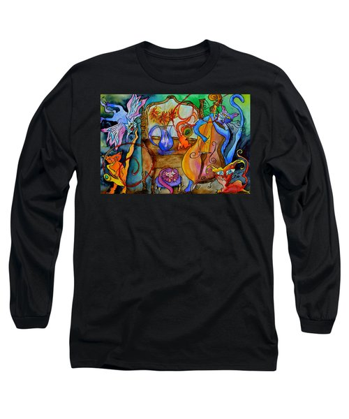 Demon Cats Long Sleeve T-Shirt