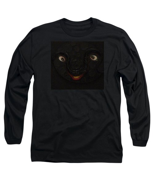 Dark Smile Long Sleeve T-Shirt by Douglas Fromm