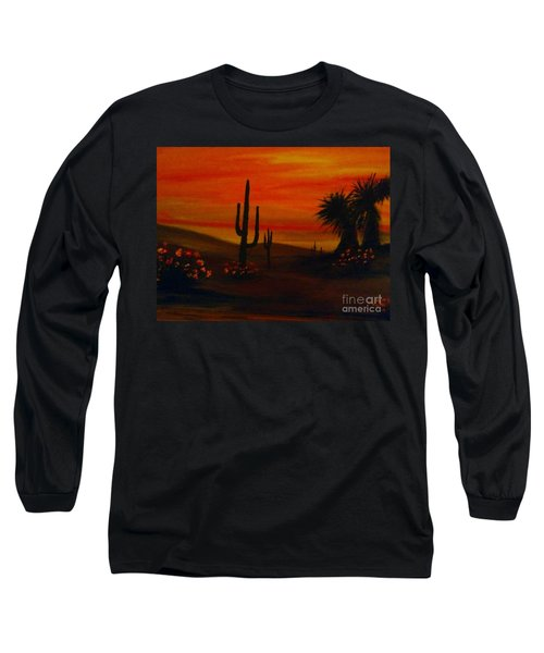 Desert Dance Long Sleeve T-Shirt