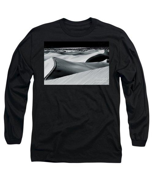 Desert Night Death Valley By Diana Sainz Long Sleeve T-Shirt