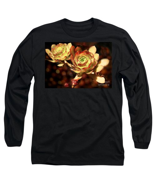 Desert Roses Long Sleeve T-Shirt by Ellen Cotton