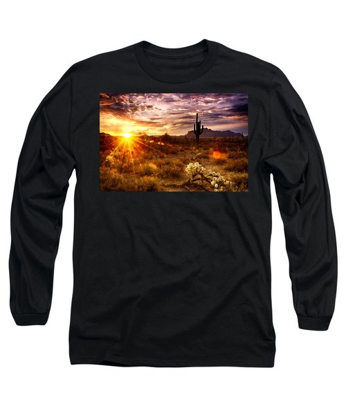 Desert Sunshine  Long Sleeve T-Shirt