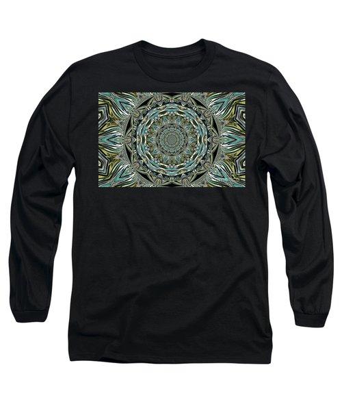 Long Sleeve T-Shirt featuring the photograph Design by Oksana Semenchenko