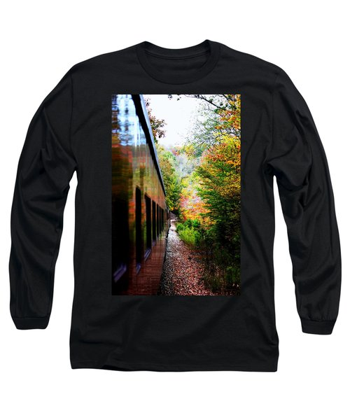 Long Sleeve T-Shirt featuring the photograph Destination by Faith Williams