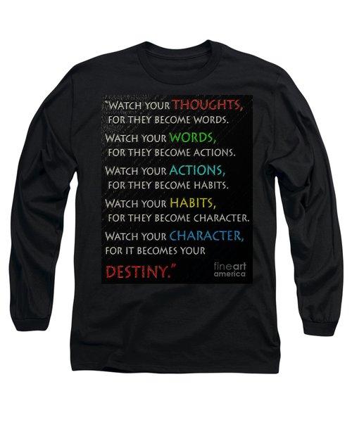 Destiny Long Sleeve T-Shirt by Mim White