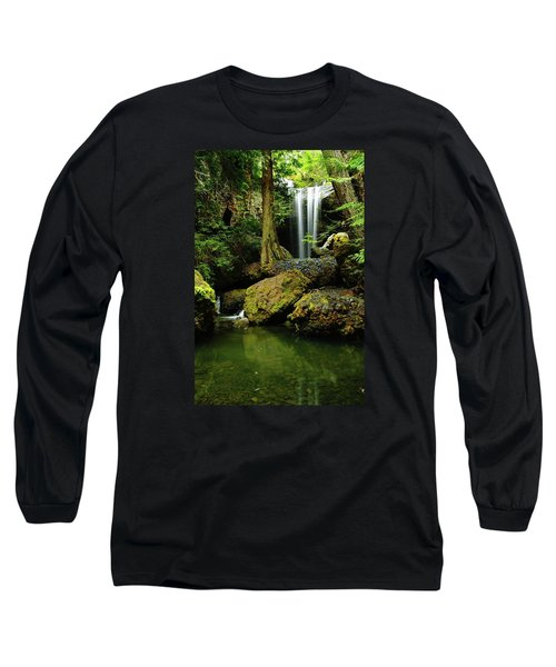Devil Creek Falls  Long Sleeve T-Shirt