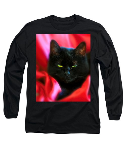 Devil In A Red Dress Long Sleeve T-Shirt