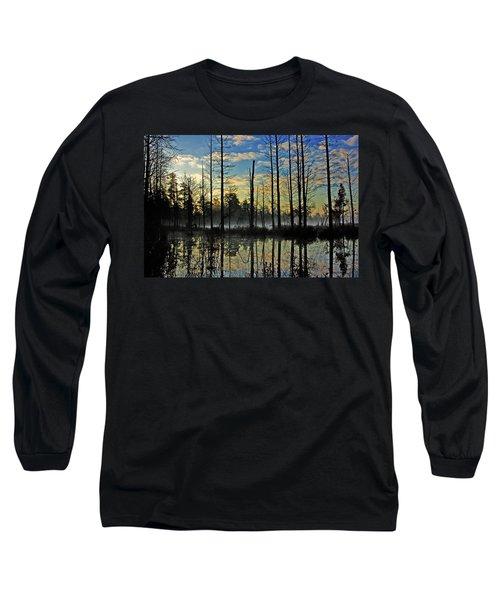 Devils Den In The Pine Barrens Long Sleeve T-Shirt