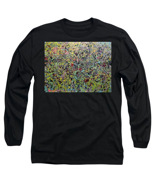 Long Sleeve T-Shirt featuring the painting Devisolum by Ryan Demaree