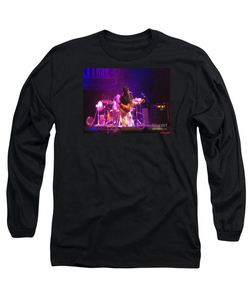 Long Sleeve T-Shirt featuring the photograph Devon Allman by Kelly Awad