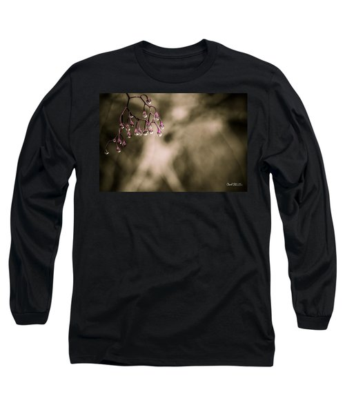 Dew Berries Long Sleeve T-Shirt by Charlie Duncan