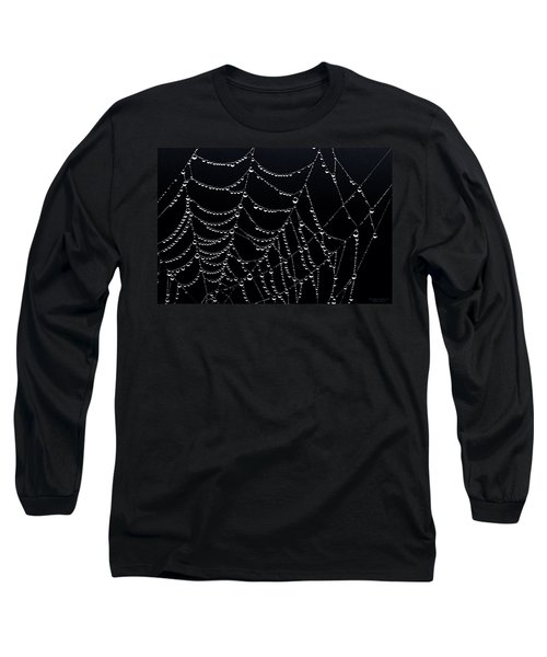 Dew Drops On Web 2 Long Sleeve T-Shirt