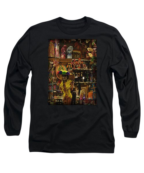 Dia De Muertos Shop Long Sleeve T-Shirt by Nadalyn Larsen