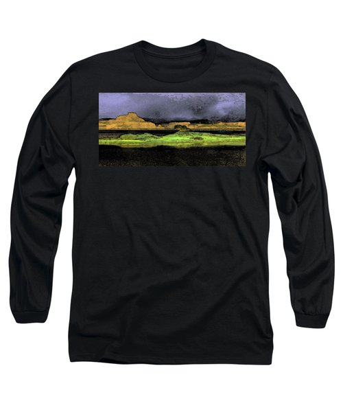 Digital Powell Long Sleeve T-Shirt