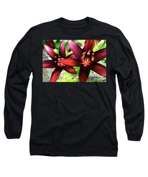 Dimension Lily 2 Long Sleeve T-Shirt by Jacqueline Athmann
