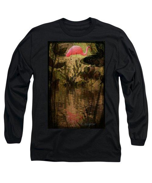 Dinosaurs Among Us Long Sleeve T-Shirt