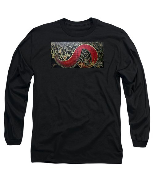 Dipped In Gold Diptich Long Sleeve T-Shirt