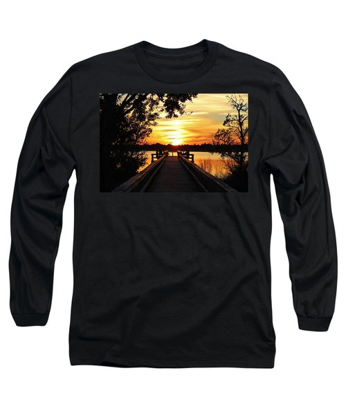 Disappearing Sun  Long Sleeve T-Shirt