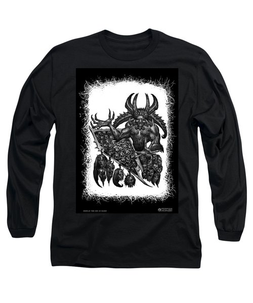 Display The Sins At Hand Long Sleeve T-Shirt