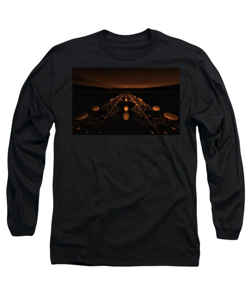 Distant Runway Long Sleeve T-Shirt by GJ Blackman