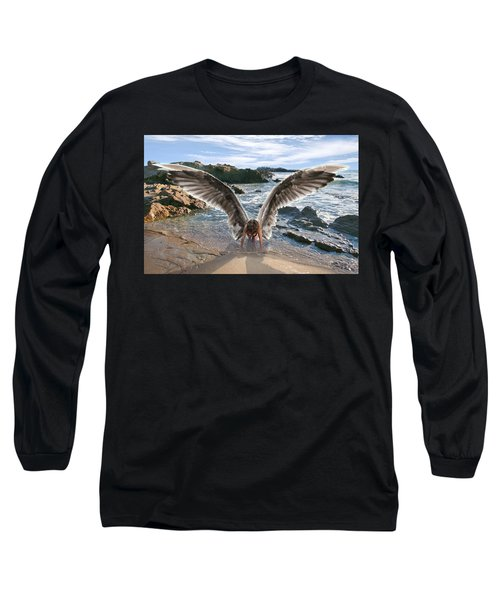 Do Not Fear I Have Come In Your Defense Long Sleeve T-Shirt