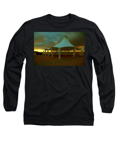 Dock At National Harbor Long Sleeve T-Shirt