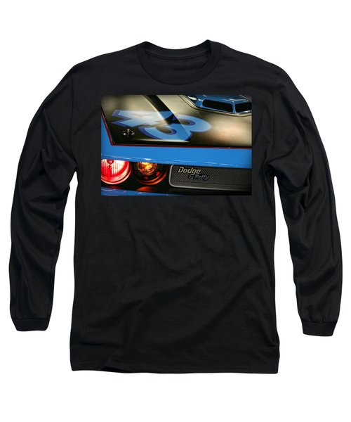 Long Sleeve T-Shirt featuring the photograph Dodge By Petty by Gordon Dean II