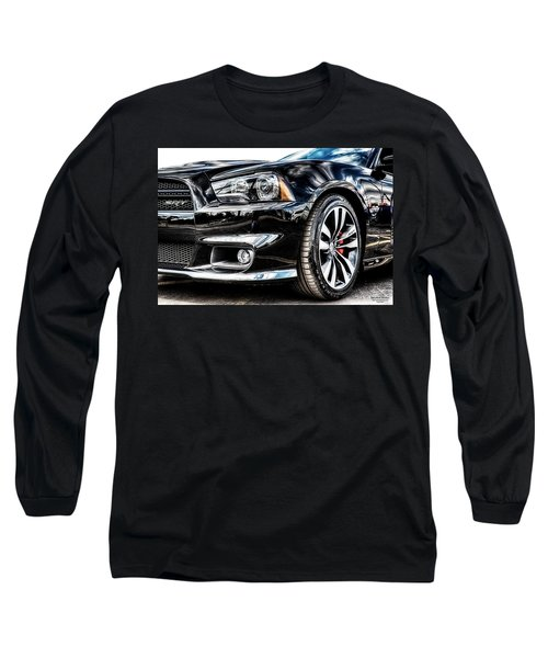 Dodge Charger Srt Long Sleeve T-Shirt by Michael White