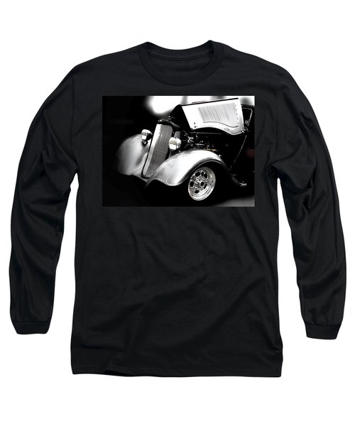 Vintage Long Sleeve T-Shirt featuring the photograph Dodge This by Aaron Berg